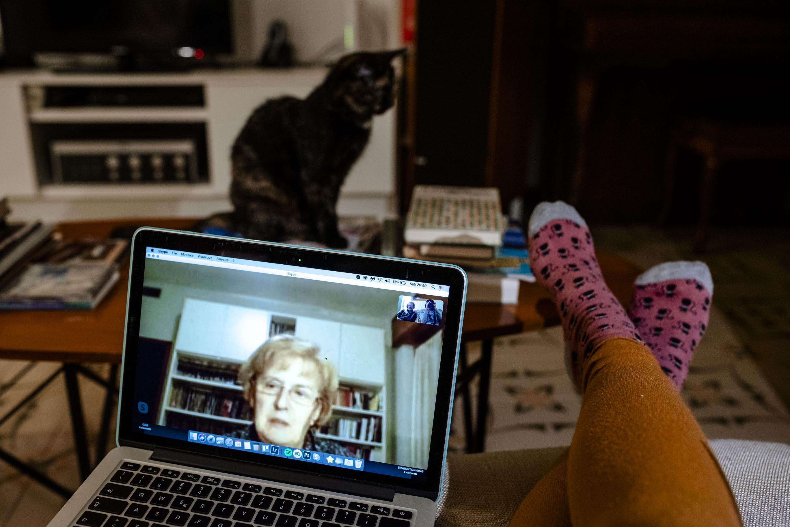 videochiamate famiglia
